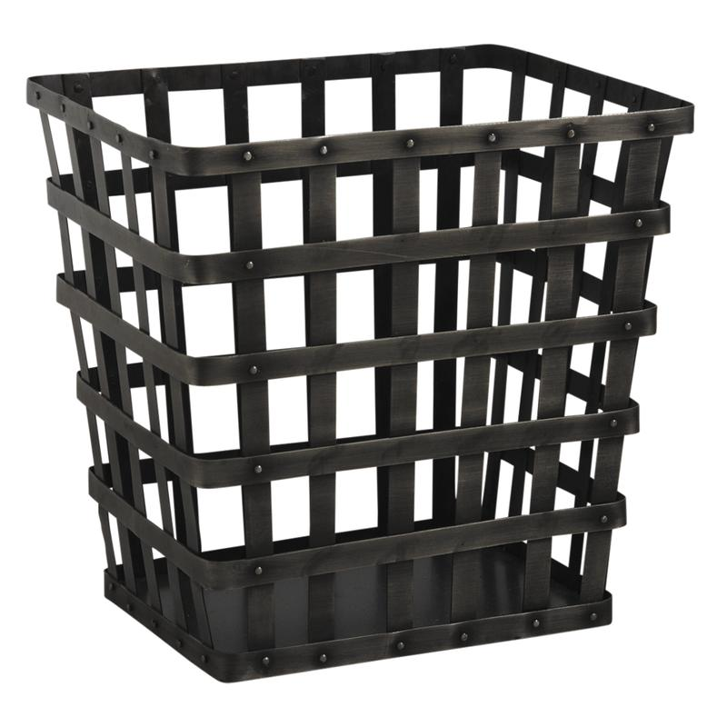 corbeille b ches en m tal gch1970 aubry gaspard. Black Bedroom Furniture Sets. Home Design Ideas