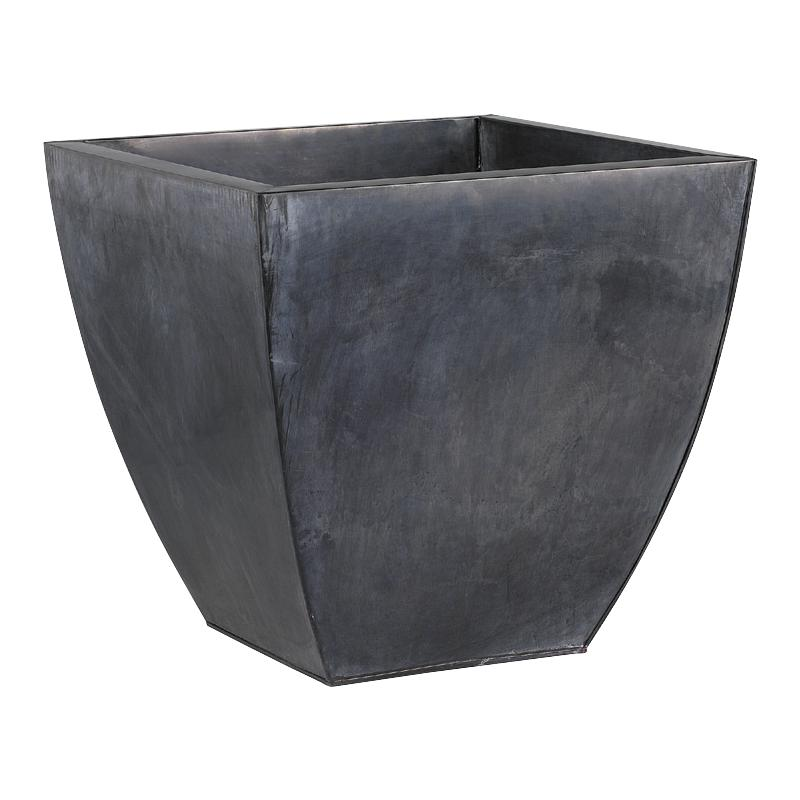 cache pot en zinc gcp105s aubry gaspard. Black Bedroom Furniture Sets. Home Design Ideas