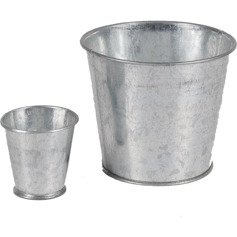 Cache pot en zinc gcp1401 aubry gaspard - Cache pot en zinc ...