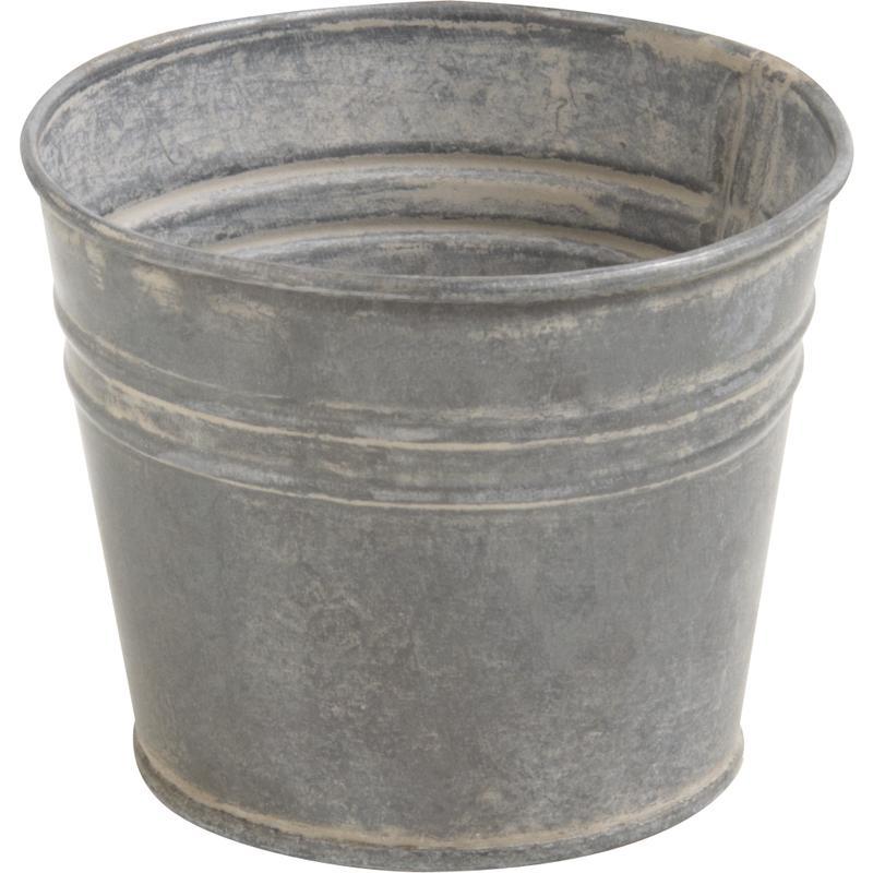 cache pot en zinc gcp1722 aubry gaspard. Black Bedroom Furniture Sets. Home Design Ideas