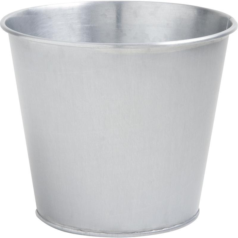 cache pot en zinc titanium gcp1741 aubry gaspard. Black Bedroom Furniture Sets. Home Design Ideas