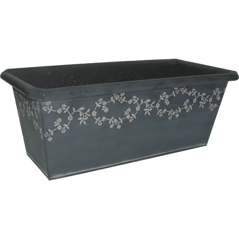 jardini re en zinc gja1430 aubry gaspard. Black Bedroom Furniture Sets. Home Design Ideas