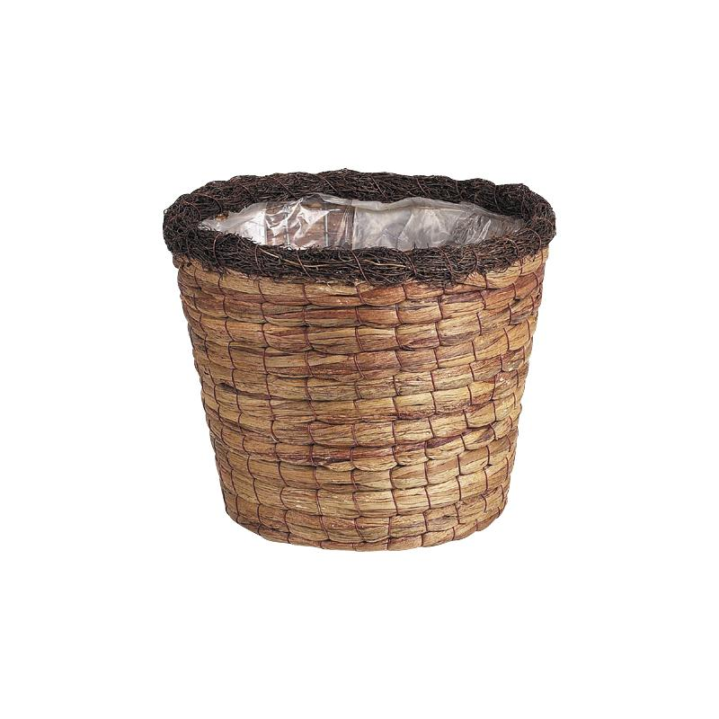 cache pot en jacinthe jcp125sp aubry gaspard. Black Bedroom Furniture Sets. Home Design Ideas