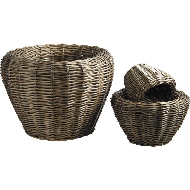 cache pot en osier gris jcp295s aubry gaspard. Black Bedroom Furniture Sets. Home Design Ideas