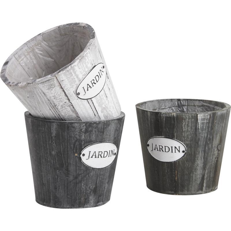 cache pot en bois jcp3211p aubry gaspard. Black Bedroom Furniture Sets. Home Design Ideas
