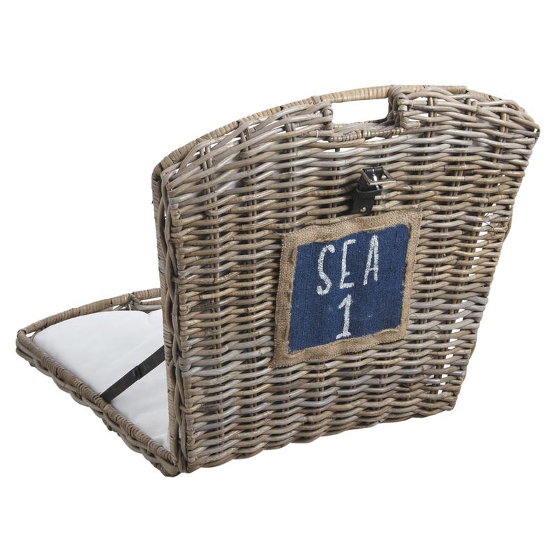 Chaise de plage en poelet mcl1090c aubry gaspard for Chaise de plage