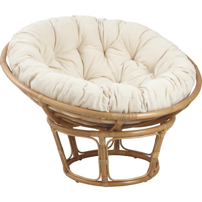 coussin pour papasan mco1260 aubry gaspard. Black Bedroom Furniture Sets. Home Design Ideas
