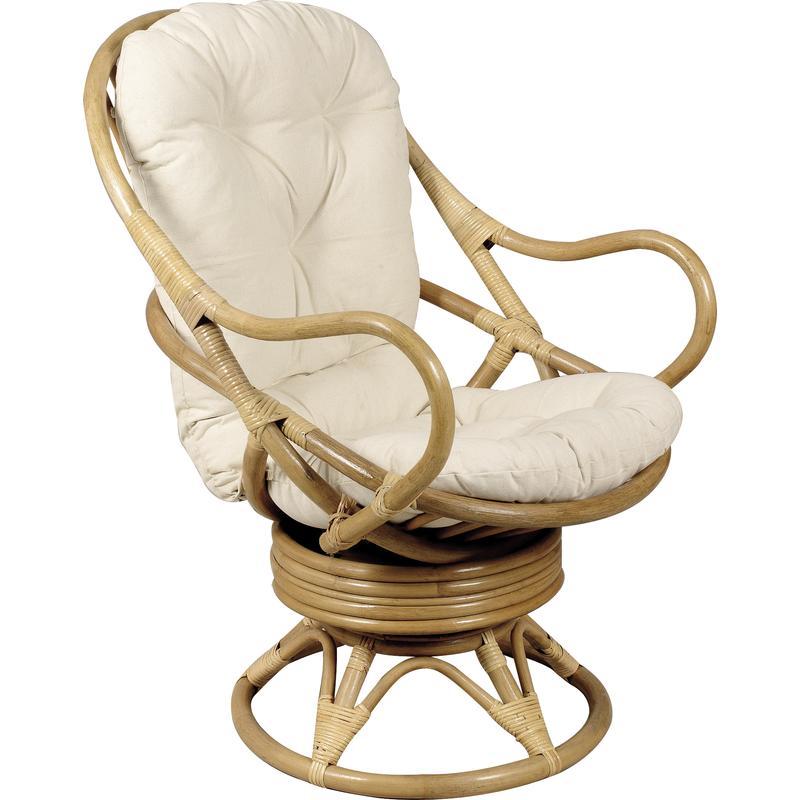 fauteuil pivotant en rotin mfp1050c aubry gaspard. Black Bedroom Furniture Sets. Home Design Ideas