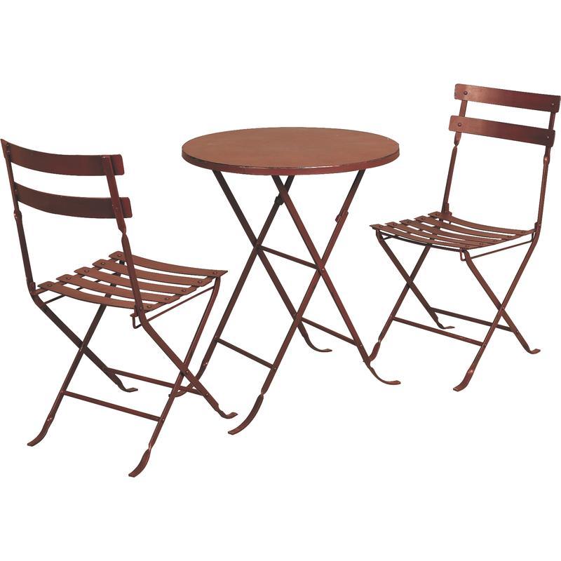 table 2 chaises en m tal mst108s aubry gaspard