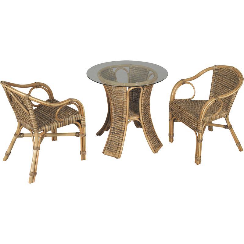 table et fauteuils de terrasse mst133sv aubry gaspard. Black Bedroom Furniture Sets. Home Design Ideas