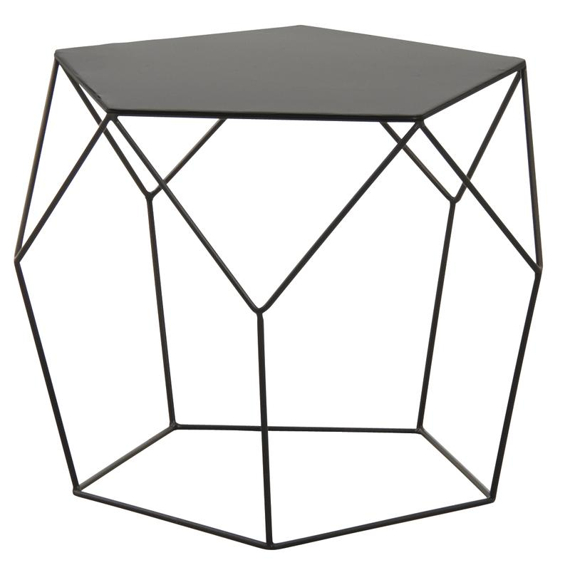 Table Basse En Metal Noir Mtb1390 Aubry Gaspard