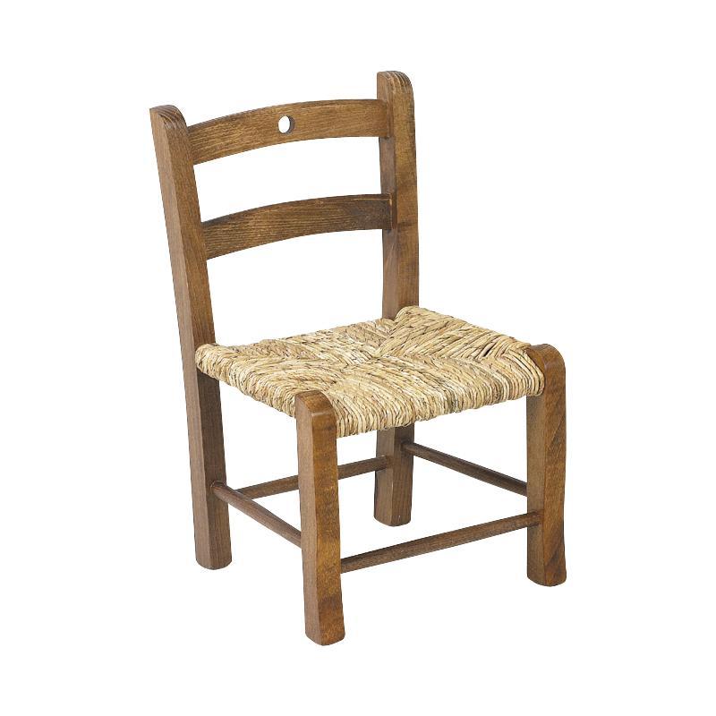 chaise enfant en h tre teint marron nce1110 aubry gaspard. Black Bedroom Furniture Sets. Home Design Ideas