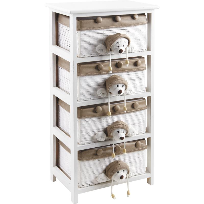 commode enfant ours en bois ncm2290c aubry gaspard. Black Bedroom Furniture Sets. Home Design Ideas
