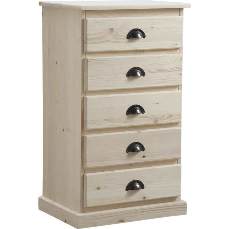 chiffonnier en bois brut ncm2620 aubry gaspard. Black Bedroom Furniture Sets. Home Design Ideas