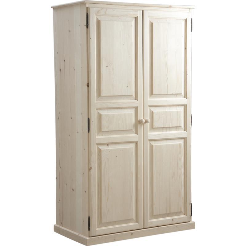 armoire en bois brut ncm2690 aubry gaspard. Black Bedroom Furniture Sets. Home Design Ideas