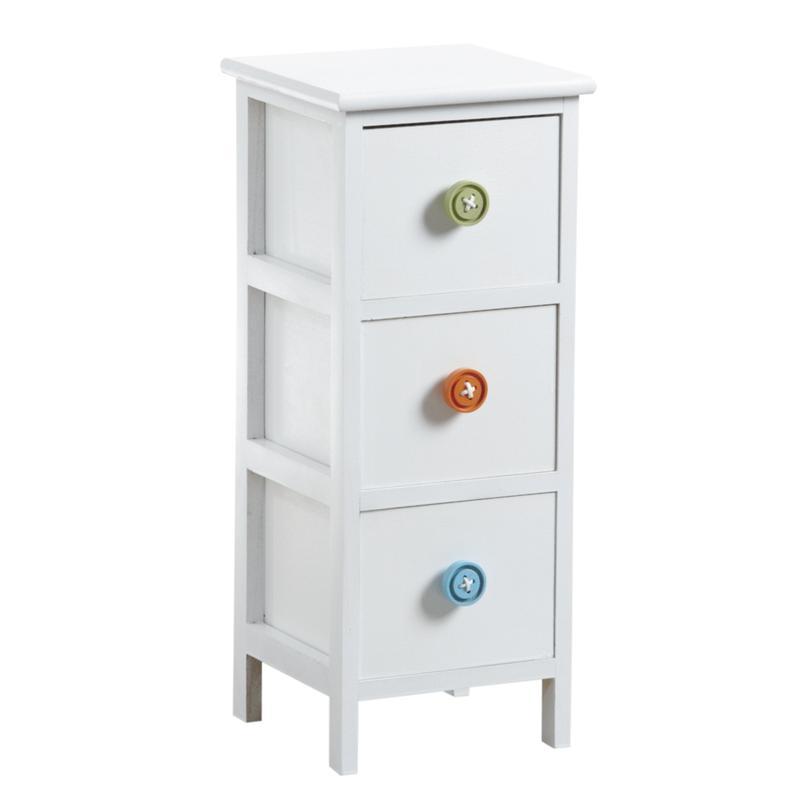 Commode 3 tiroirs avec boutons ncm2890 aubry gaspard - Bouton de commode ...