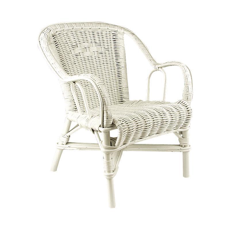 fauteuil pour enfant en rotin nfe1090 aubry gaspard. Black Bedroom Furniture Sets. Home Design Ideas