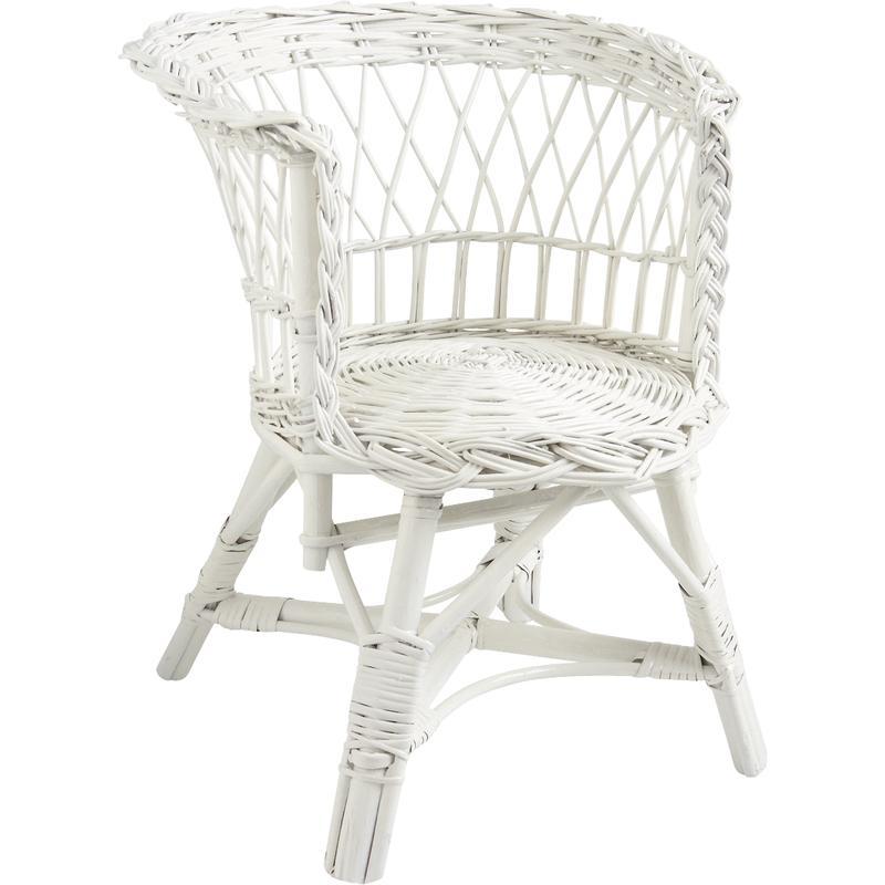 fauteuil pour enfant en osier nfe1100 aubry gaspard. Black Bedroom Furniture Sets. Home Design Ideas