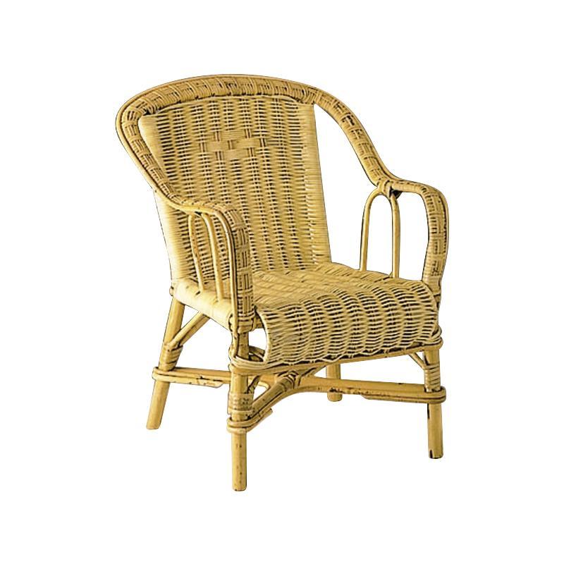 fauteuil pour enfant en rotin nfe1150 aubry gaspard. Black Bedroom Furniture Sets. Home Design Ideas