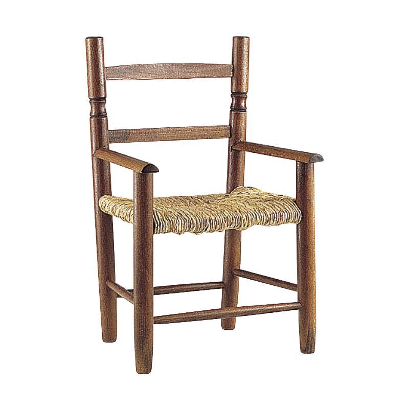 Chaise enfant en h tre teint verni nfe1250 aubry gaspard for Chaise en hetre