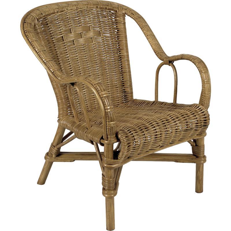 fauteuil pour enfant en rotin nfe1340 aubry gaspard. Black Bedroom Furniture Sets. Home Design Ideas
