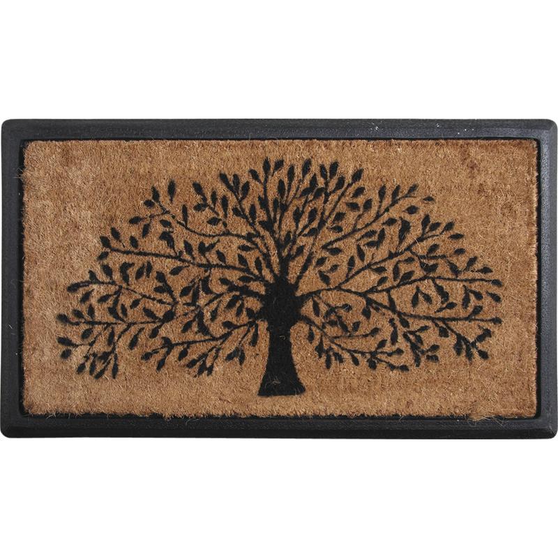 paillasson arbre en coco et latex npa1651 aubry gaspard. Black Bedroom Furniture Sets. Home Design Ideas