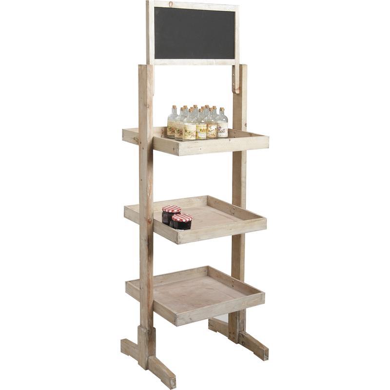 pr sentoir en bois tableau noir npr1320 aubry gaspard. Black Bedroom Furniture Sets. Home Design Ideas