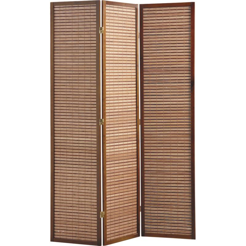 paravent en bois et bambou npv1450 aubry gaspard. Black Bedroom Furniture Sets. Home Design Ideas