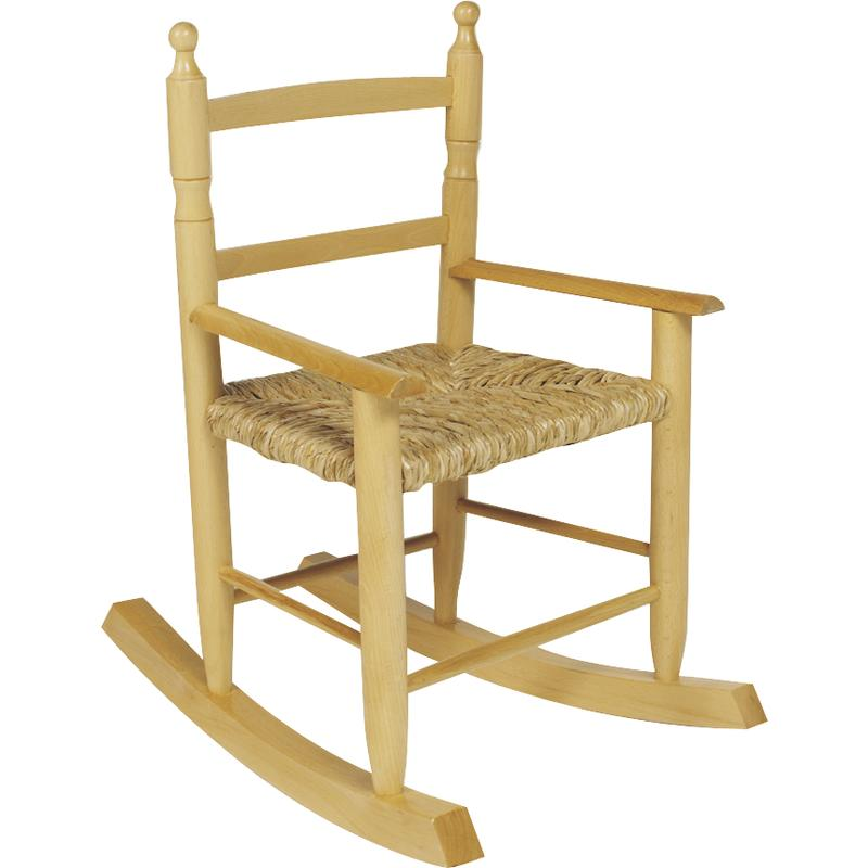 rocking chair enfant en h tre nre1070 aubry gaspard. Black Bedroom Furniture Sets. Home Design Ideas