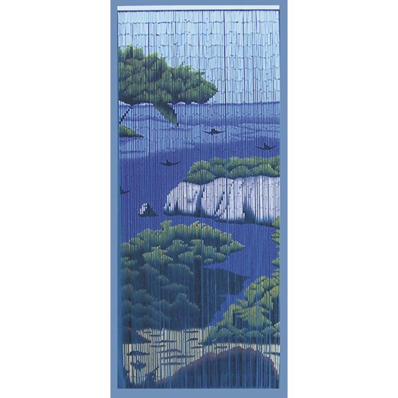 Rideau de porte mer en bambou nri1790 aubry gaspard - Rideaux de porte en bambou ...
