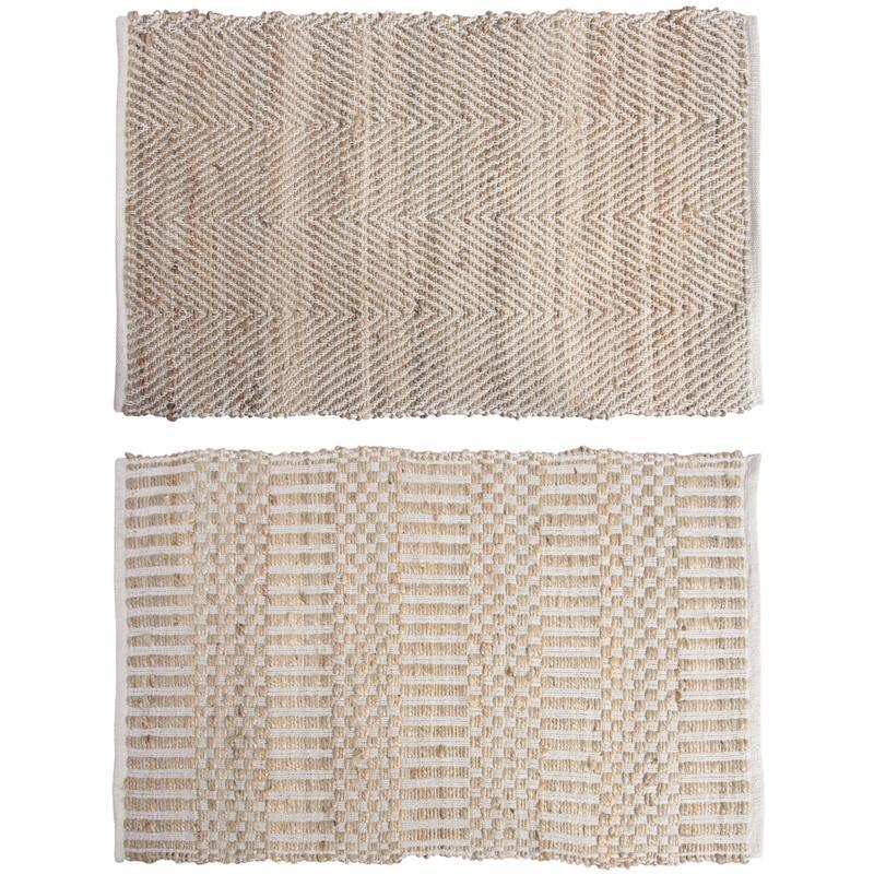 tapis en jute et coton nta1740 aubry gaspard. Black Bedroom Furniture Sets. Home Design Ideas