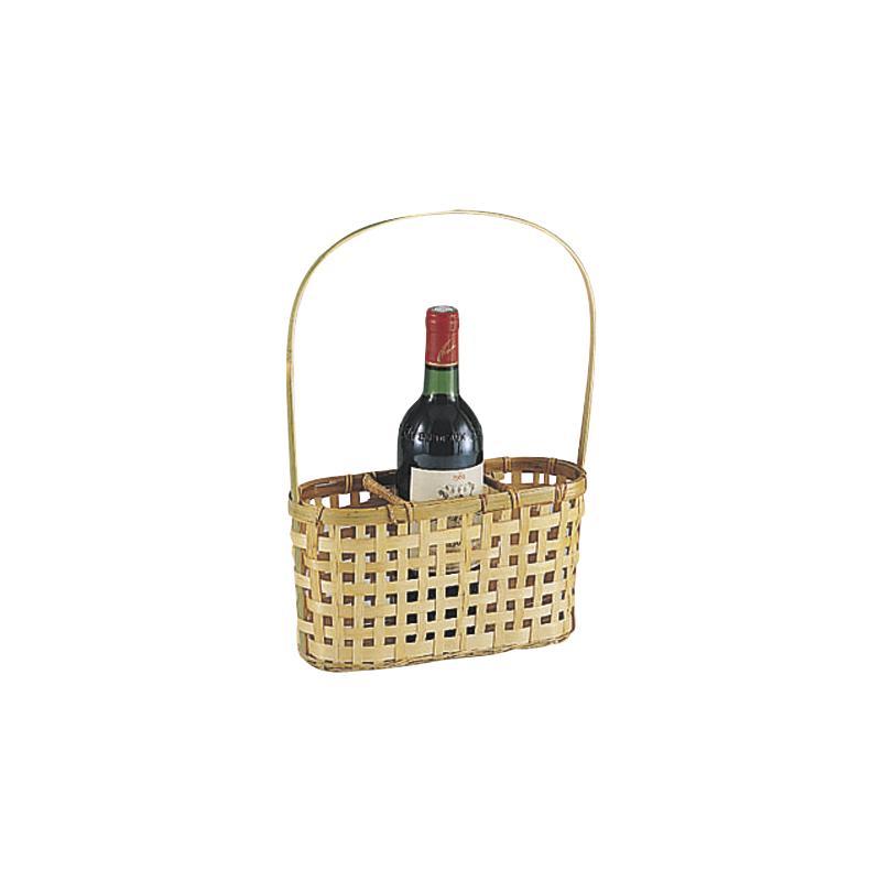 panier porte bouteilles en bambou pbo1430 aubry gaspard. Black Bedroom Furniture Sets. Home Design Ideas