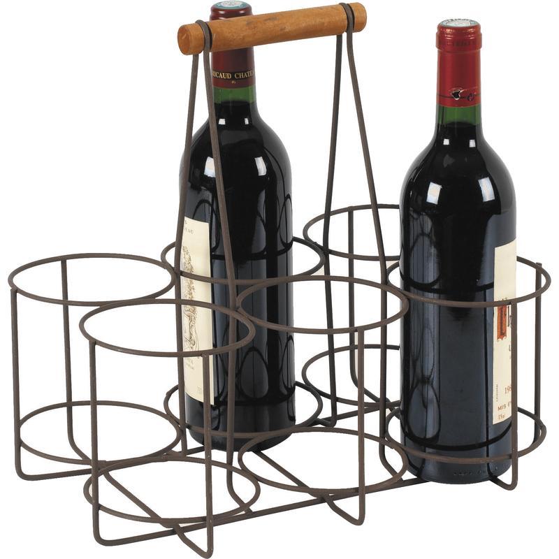 Porte bouteilles en m tal pbo1700 aubry gaspard for Porte 6 bouteilles metal
