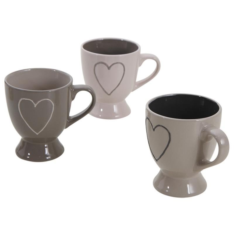 tasse caf en gr s coeur tdi1790v aubry gaspard. Black Bedroom Furniture Sets. Home Design Ideas
