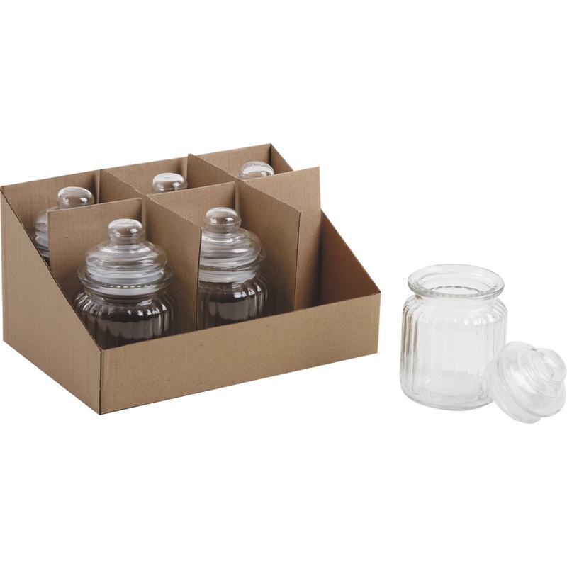 bocaux ronds en verre tpo1120v aubry gaspard. Black Bedroom Furniture Sets. Home Design Ideas