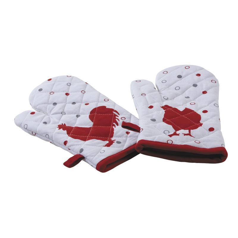 gants de cuisine poule rouge ttx149s aubry gaspard. Black Bedroom Furniture Sets. Home Design Ideas