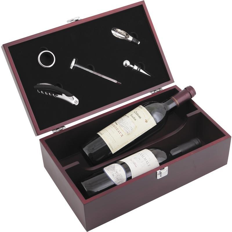 coffret bouteilles de vin 5 accessoires vbo1820 aubry gaspard. Black Bedroom Furniture Sets. Home Design Ideas