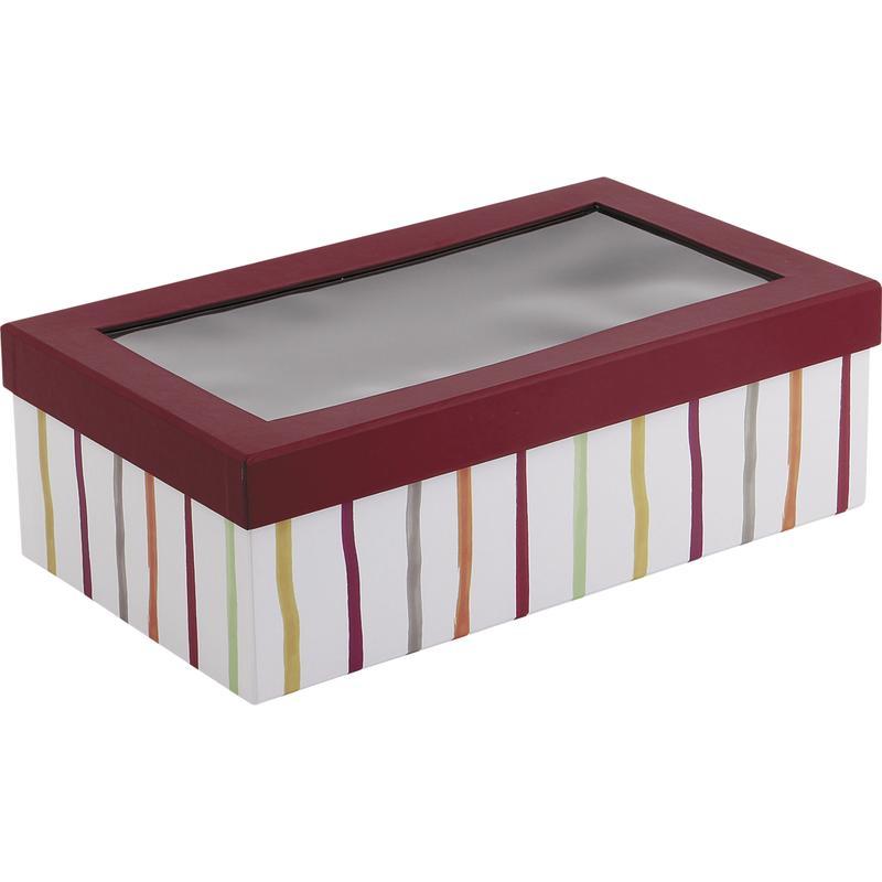 boite en carton avec couvercle pvc vbt2220 aubry gaspard. Black Bedroom Furniture Sets. Home Design Ideas