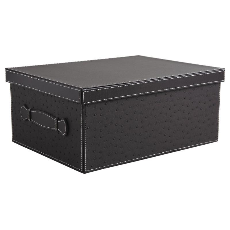 boite en simili autruche vbt2550 aubry gaspard. Black Bedroom Furniture Sets. Home Design Ideas