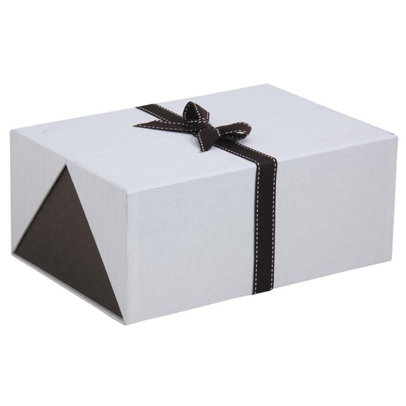 Boite cadeau rectangulaire en carton vbt2870 aubry gaspard - Patron boite en carton rectangulaire ...