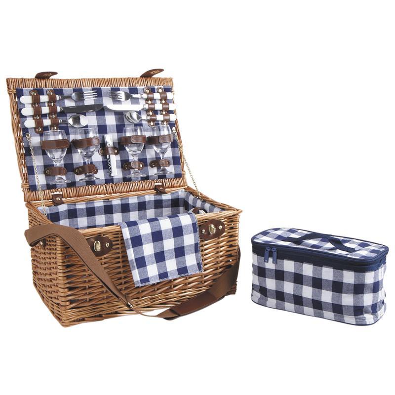 valise pique nique isotherme en osier vpi1300c aubry gaspard. Black Bedroom Furniture Sets. Home Design Ideas