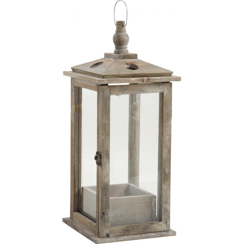 corbeille lanterne en bois cfl1620pv aubry gaspard. Black Bedroom Furniture Sets. Home Design Ideas