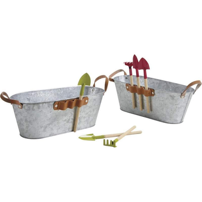 Jardini re en zinc avec accessoires gja1600 aubry gaspard - Jardiniere en zinc ...