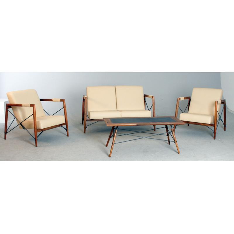 canap alice en bois de suar massif mca1360c aubry gaspard. Black Bedroom Furniture Sets. Home Design Ideas