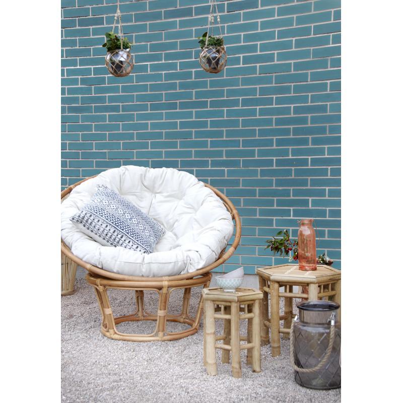fauteuil papasan en rotin mfa2280c aubry gaspard