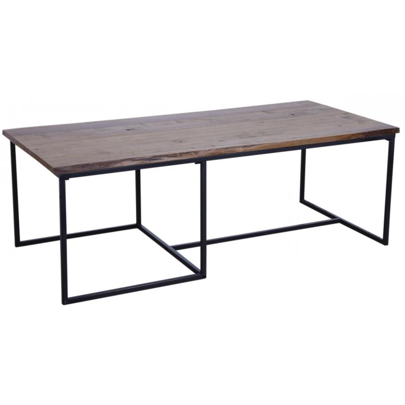 Table Basse En Bois Et Metal Mtb1600 Aubry Gaspard