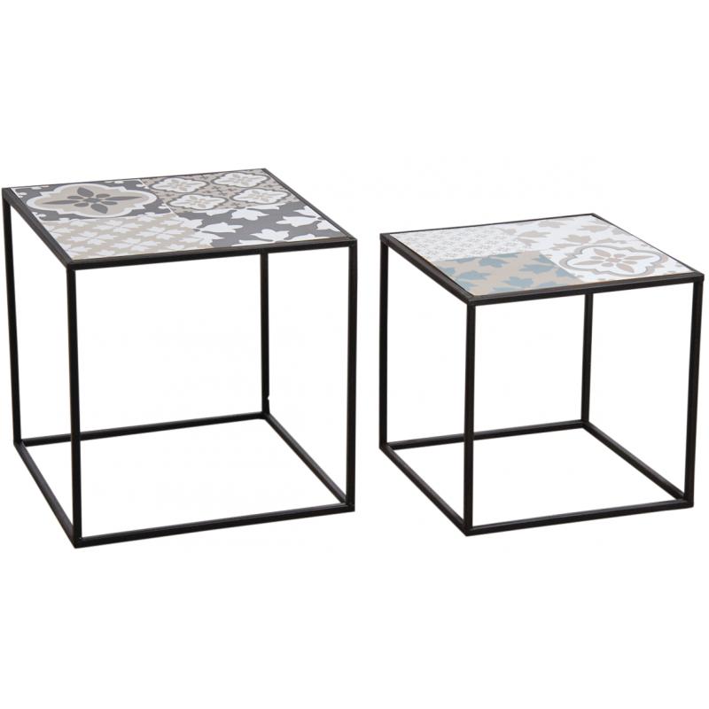 Tables Gigonges Decor Mosaique Mtb164s Aubry Gaspard