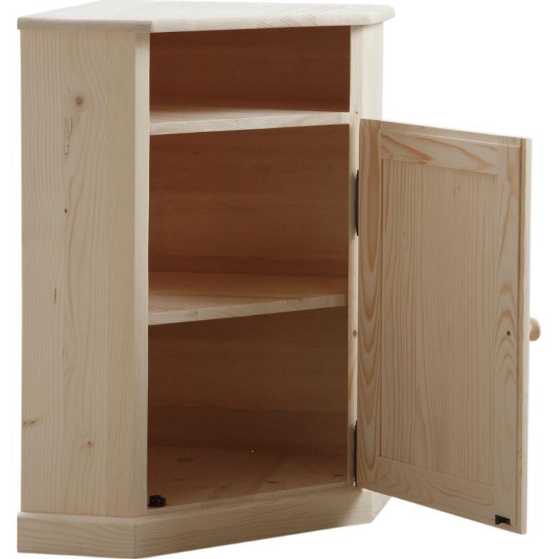 meuble d 39 angle en bois brut ncm2660 aubry gaspard. Black Bedroom Furniture Sets. Home Design Ideas