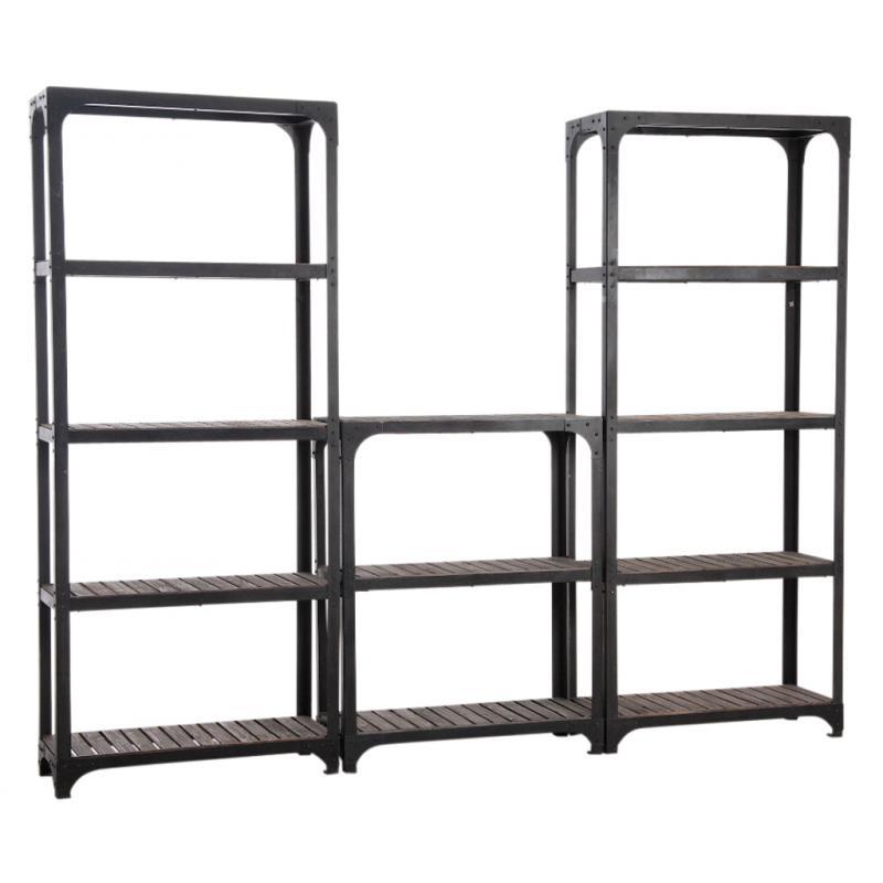 etag re en m tal et bois net1840 aubry gaspard. Black Bedroom Furniture Sets. Home Design Ideas
